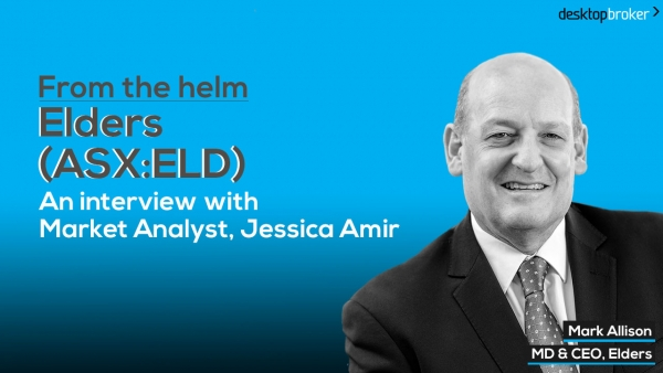 From the helm: Elders' (ASX:ELD) MD & CEO, Mark Allison