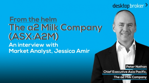 From the helm: The a2 Milk Company (ASX:A2M) Asia Pac CEO, Peter Nathan