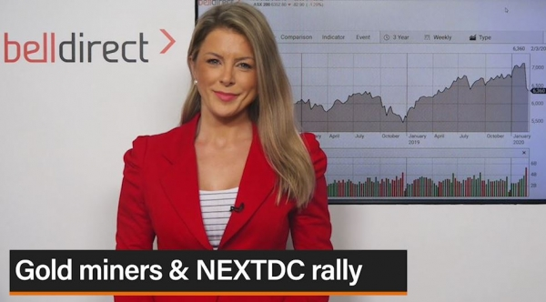 Market Update 4 March: Gold miners & NEXTDC rally