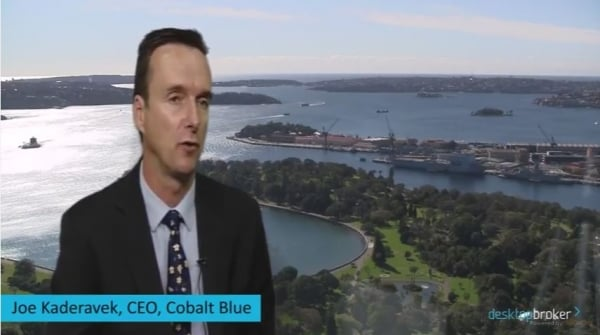 CEO interview - Cobalt Blue
