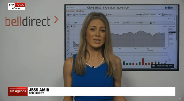 Sky News with Jessica Amir: CBA reporting season